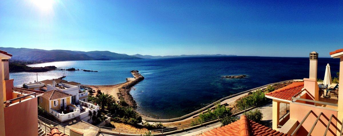 Yunanistanda bir ada; Chios. Chios'da bir kedi; Bücürük.