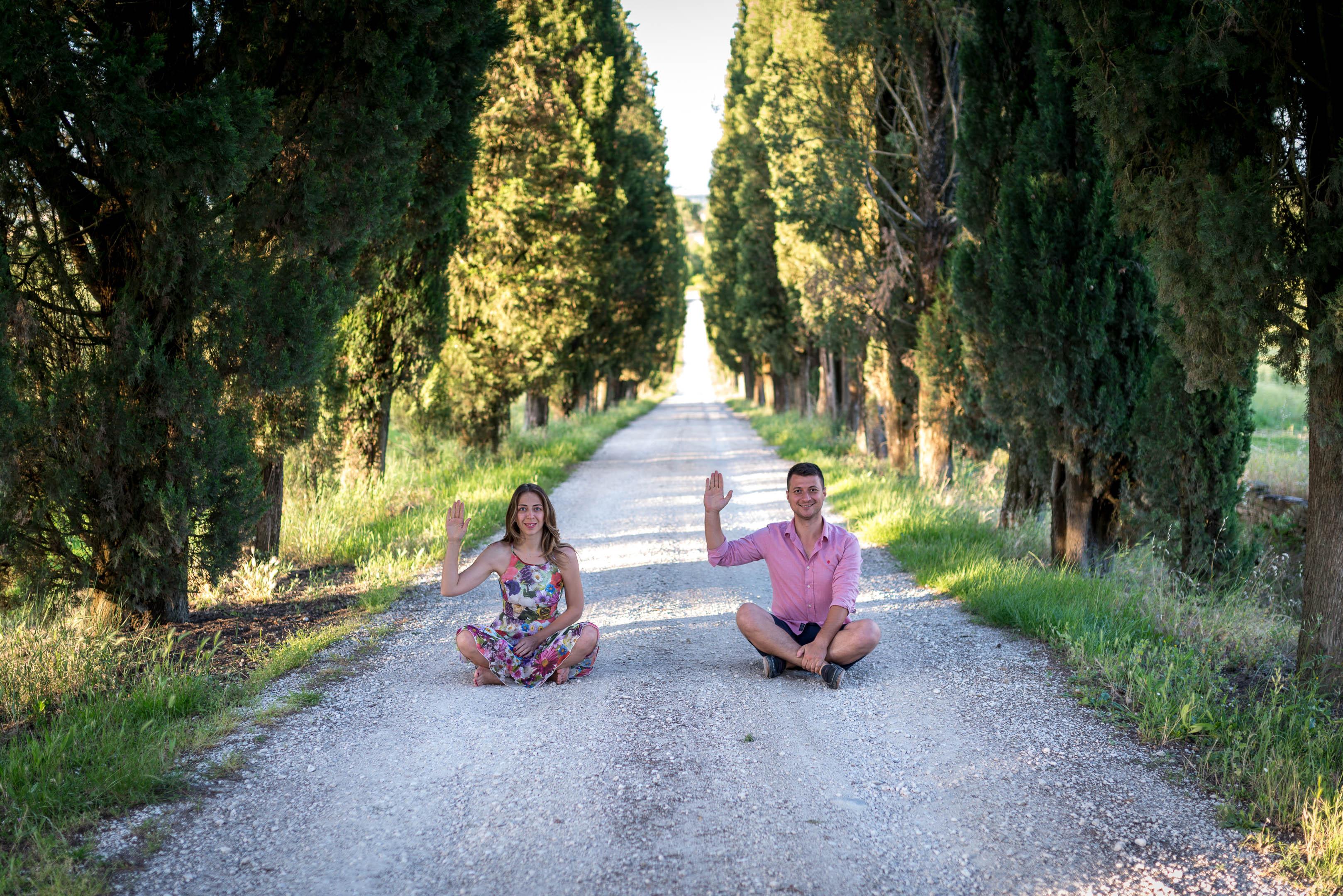 İtalya'da bir çift