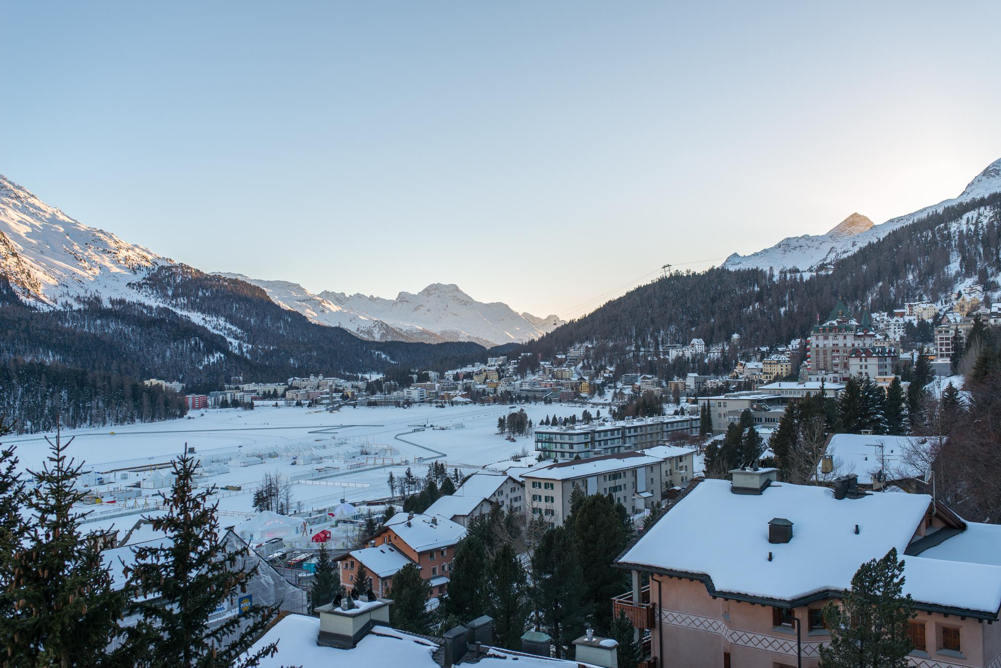 St. Moritz from Carlton